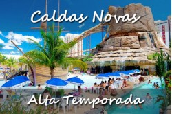 Caldas Novas - Média Temporada Junho e Agosto 2020 - 06 Dias