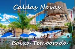 Caldas Novas - Baixa Temporada - 06 Dias